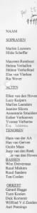 ledenlijst jan 1999